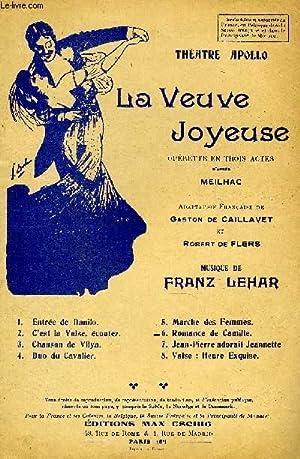 LA VEUVE JOYEUSE: LEHAR Franz