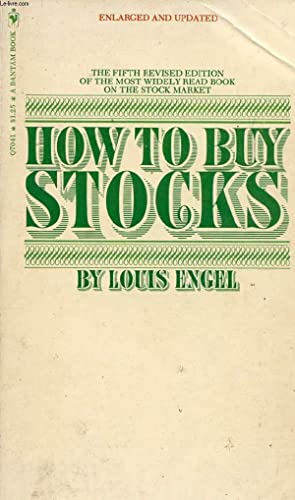 HOW TO BUY STOCKS: ENGEL LOUIS