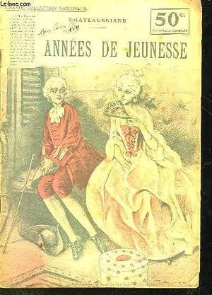 ANNEES DE JEUNESSE: CHATEAUBRIAND
