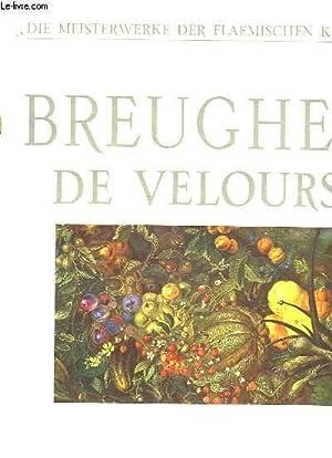 BREUGHEL DE VELOURS: COMBE JACQUES