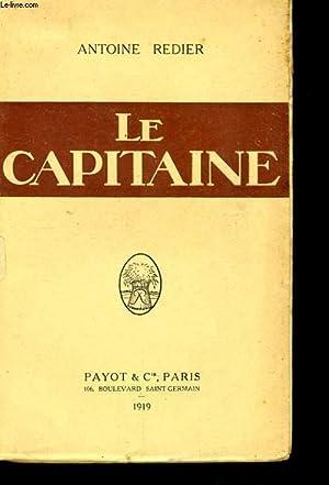 LE CAPITAINE: REDIER Antoine