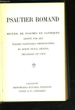 PSAUTIER ROMAND: COLLECTIF
