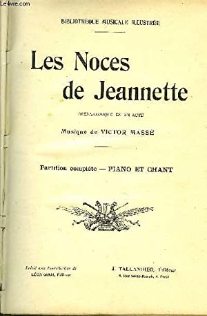 LES NOCES DE JEANNETTE: MASSE Victor