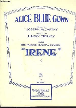 ALICE BLUE GOWN: TIERNEY Harry / MAC CARTHY Joseph