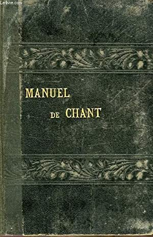 MANUEL DE CHANT: COLLECTIF