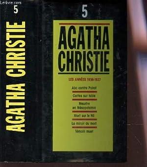 TOME 5 :LES ANNEES 1936-1937 / ABC: CHRISTIE AGATHA