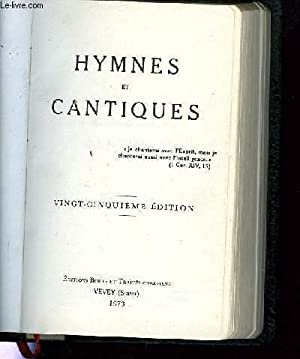 HYMNES ET CANTIQUES / CHOIX DE CANTIQUES: COLLECTIF