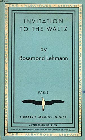 INVITATION TO THE WALTZ: LEHMANN ROSAMOND