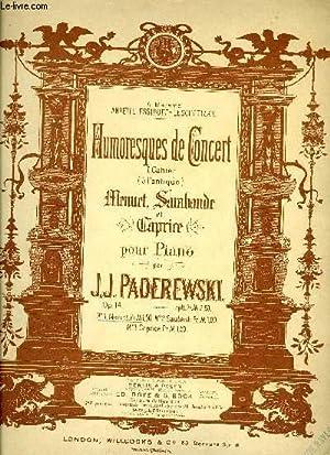 MENUET: PADEREWSKI J.J.