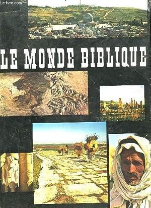 LE MONDE BIBLIQUE: WILDBERGER HANS
