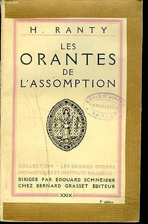 LES ORANTES DE L'ASSOMPTION.: H. RANTY