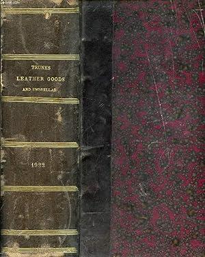 TRUNKS, LEATHER GOODS AND UMBRELLAS, JAN.-DEC. 1922,: COLLECTIF