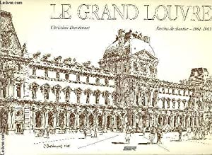 LE GRAND LOUVRE - DESSINS DE CHANTIER 1991-1993.: DARDENNES CHRISTIAN