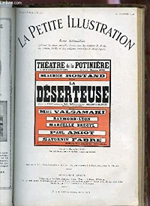 LA PETITE ILLUSTRATION - N°309 - THEATRE N°173 - 13 NOVEMBRE 1926 / LA DESERTEUSE - ...