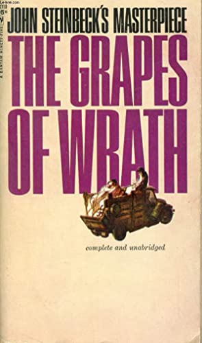 THE GRAPES OF WRATH: STEINBECK John