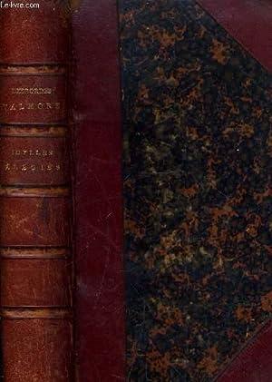 OEUVRES POETIQUES DE MARCELINE VALMORE 1819-1833 - IDYLLES ELEGIES.: DESBORDES VALMORE MARCELINE