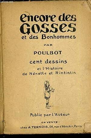 ENCORE DES GOSSES ET DES BONHOMMES ET L'HISTOIRE DE NENETTE ET RINTINTIN.: POULBOT