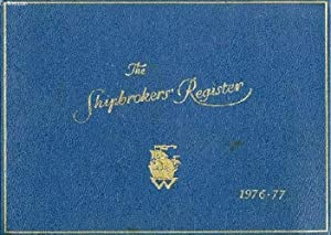 THE SHIPBROKER'S REGISTER, 1976-1977: COLLECTIF