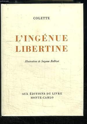 L'Ingénue Libertine.: COLETTE
