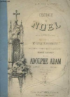 CANTIQUE DE NOEL - PIANO ET CHANT.: ADAM ADOLPHE