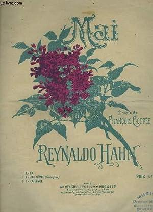 MAI - PIANO ET CHANT EN SOL BEMOL TON ORIGINAL.: HAHN REYNALDO