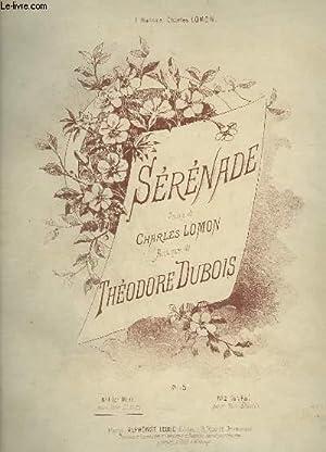 SERENADE - PIANO ET CHANT POUR VOIX GRAVES EN MI B.: DUBOIS THEODORE