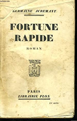FORTUNE RAPIDE: ACREMANT Germaine
