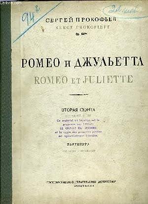 ROMEO ET JULIETTE, DEUXIEME SUITE: PROKOFIEFF Serge