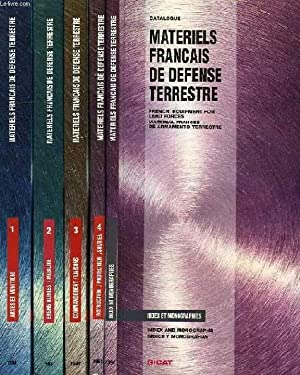 CATALOGUE DES MATERIELS FRANCAIS DE DEFENSE TERRESTRE, CATALOGUE OF FRENCH EQUIPMENT FOR LAND ...
