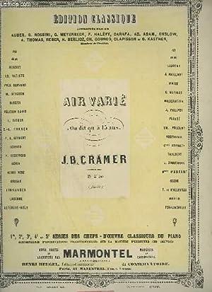 AIR VARIE - IN DIT QU'A 15 ANS.: CRAMER J. B.