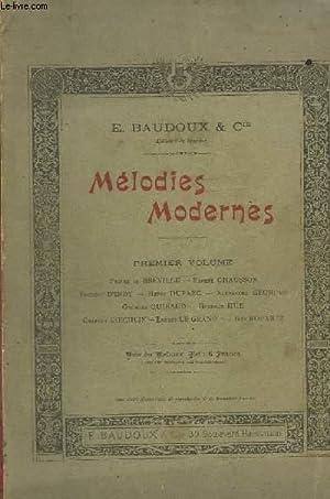 MELODIES MODERNES - PREMIER VOLUME : LE: COLLECTIF
