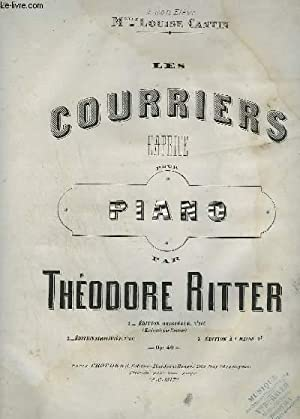 LES COURRIERS - CAPRICE POUR PIANO.: RITTER THEODORE