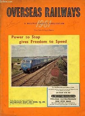 OVERSEAS RAILWAYS, 1961 (INCOMPLETE) (Contents: Ceylon Government: COLLECTIF