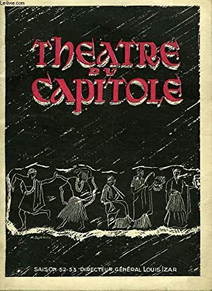 THEATRE DU CAPITOLE, TOULOUSE, SAISON 1952-53: COLLECTIF