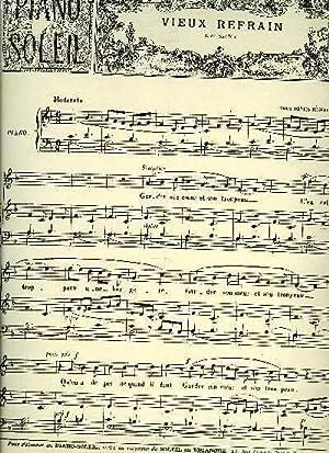 PIANO SOLEIL 12 JANVIER 1896, N°2: COLLECTIF