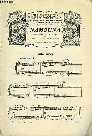 SUPPLEMENT MUSICAL AU N°3399 DE L'ILLUSTRATION: COLLECTIF
