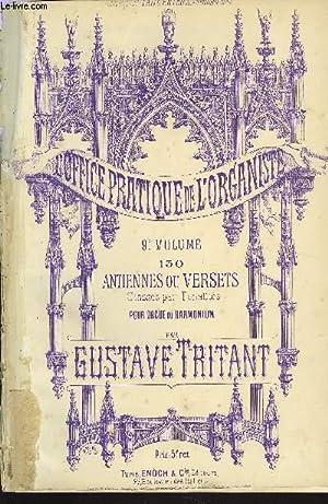 L'OFFICE PRATIQUE DE L'ORGANISTE 9EME VOLUME: TRITANT Gustave
