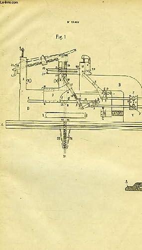 XVI, HABILLEMENT, 4, MACHINE A FAIRE LES CLAQUES ET LES DESSUS DE SOULIERS SANS COUTURE ET DE TOUTE...