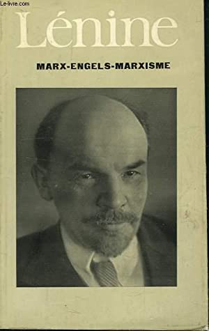 MARX-ENGELS-MARXISME: LENINE V.