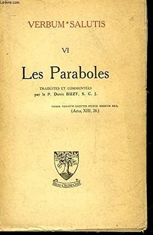 VERBUM SALUTIS - VI - LES PARABOLES: COLLECTIF