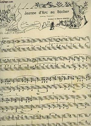 PIANO SOLEIL - N°13 DU 29 SEPTEMBRE 1901 : JEANNE D'ARC AU BUCHER + GIPSY QUEEN.: GOUNOD ...