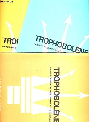 "LOT DE DIVERS DOCUMENTS DE THERAMEX ""TROPHOBOLENE - LES IRREGULARITES MENSTRUELLES DE LA ..."