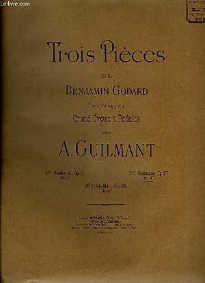 TROIS PIECES DE BENJAMIN GODARD: GUILMANT A.