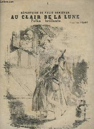 AU CLAIR DE LA LUNE - POLKA POUR PIANO.: JULIANO A.P.