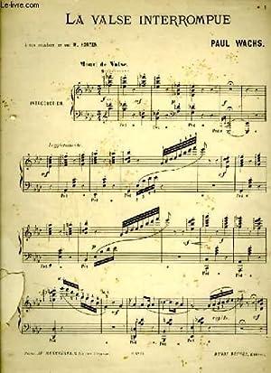 LA VALSE IMPROMPUE - PIANO.: WACHS PAUL