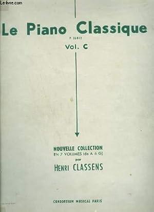 PIANO CLASSIQUE - VOLUME C.: CLASSENS HENRI