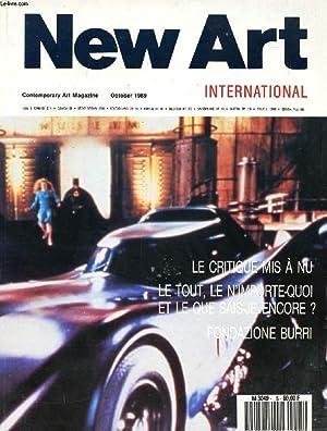 NEW ART INTERNATIONAL, 4th YEAR, n° 5,: COLLECTIF