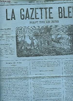 LA GAZETTE BLEUE - 1ere ANNEE - NUMERO 11 - 2 Mars 1865 / Bals . - La cavalcade organis&eacute...