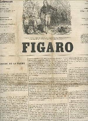 LE FIGARO - 1ere ANNEE - 1088 - 20 JUILLET 1865 / LES HASARDS DE LA PLUME - LES CHASSES DU ...