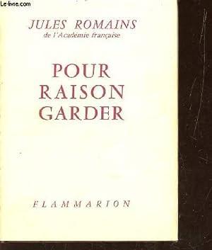 POUR RAISONGARDER.: ROMAINS JULES